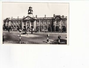A Valentine's Real Photo Post Card of Council House, Smethwick. Staffordshire
