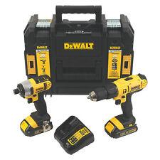 DEWALT XR DCD776-DCF885 Twin Pack visseuse + Combi Drill 2 18 V Li-Ion Bat, S