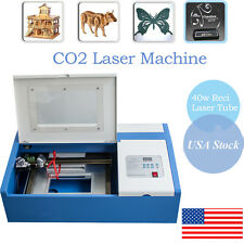 40W High Precise CO2 Laser Engraving Cutting Machine Engraver Cutter USB Port