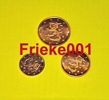 Finland - Finlande - 1,2 en 5 cent 2011 unc.