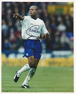 Genuine Hand Signed Autograph Photo Photograph CHELSEA William Gallas 10 x 8""