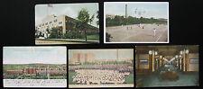 1900's 1910's NCR NATIONAL CASH REGISTER Postcard Lot, 5 Postcards, Dayton Ohio