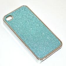 COVER iPhone 4 G custodia case slim rigida brillantini glitterata tinta unita 3