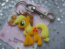 MY LITTLE PONY APPLE JACK  STRONG LARGE KEYRING DOUBLE SIDED    ,[ GIFT BAG ,