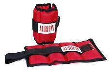 AURION Wrist/Ankle Weights 2 kg x 2 kg Home Gym Weight Bands