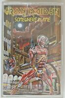 Cassette - IRON MAIDEN - Somewhere in Time - TC-FA 3246 (1986)