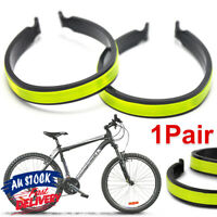 Trouser Bicycle Clips Silverline Reflective Pair Bike Cycling
