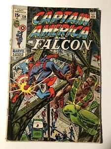 MARVEL COMICS CAPTAIN AMERICA #138 Falcon