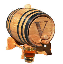 Personalized 1 Liter Mini-Oak Whiskey Barrel - Groomsmen Gift - Father's Day