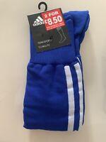 Adidas Blue Boys Mens Socks Uk 6.5 - 8 Uk 6 Uk 7 Uk 8