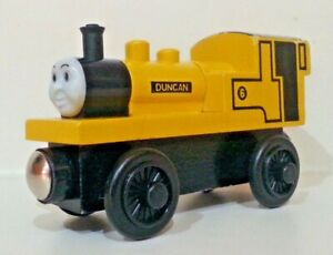 Thomas and Friends Wooden Railway Duncan Train Engine Used