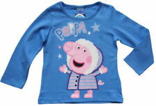 Peppa Wutz Mädchen-T-Shirts & -Tops mit Rundhals-Ausschnitt aus 100% Baumwolle