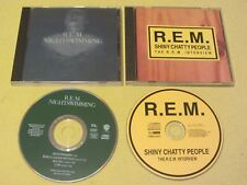 REM Nightswimming CD Single & Shiny Chatty People Interview CD Rock Alternative