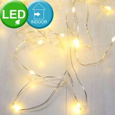 Décoratif Chaîne lumineuse LED Noël Cuivre/argent W Globo 29950-100