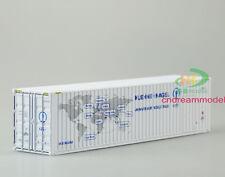 1:50 Huehnu-nagel Container shipping Model logistics gift 40'G Alloy Model