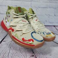 Nike Youth Size 6Y Kyrie 5 Bandulu GS Embroidered Basketball Shoes CQ4326-100
