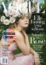 VOGUE Magazine AMERICAN USA June 2017 Elle Fanning NEW