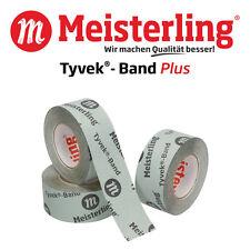 Meisterling® Tyvek® Band PLUS Klebeband 60 mm Diffusionsoffen für Unterspannbahn
