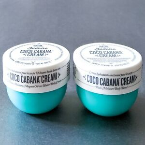 2x SOL DE JANEIRO Coco Cabana Body Cream | 2 x Travel Size .84oz/25ml