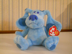 TY 2006 Blues Clues puppy dog beanie baby plush with Tags new