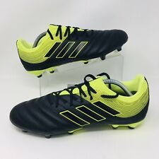 *NEW* Adidas Copa 19.3 (Men's Size 11) Firm Ground Soccer Cleats Black/Yellow