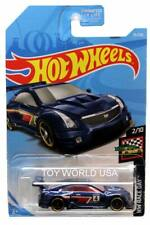 2019 Hot Wheels #75 HW Race Day '16 Cadillac ATS-V R blue Kroger Exclusive