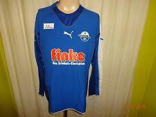 "SC Paderborn 07 Original Puma Langarm Spieler Version Trikot 05/06 ""finke"" Gr.M"