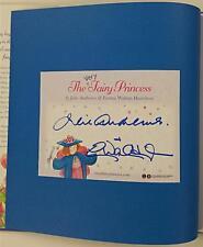 JULIE ANDREWS + Emma W. Hamilton Signed Very Fairy Princess Graduation Day Book