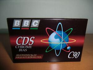 BBC CDS 90 Type II Audiocassette - Kassette NEW / NEU Sealed ! SELTEN !