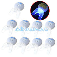 10X AZDENT Dental Teeth Whitening Plasma LED Blue Light Lamp Accelerator & Tray