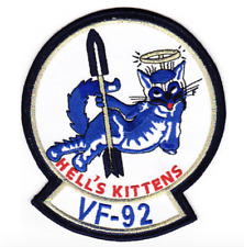 "5"" NAVY VF-92 PATCH HELLS KITTENS EMBROIDERED PATCH"