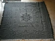 "Vintage...Collectif...Pretty Reversible...Shawl / Table Cloth....Japan 51"" x 48"""