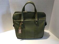 Vintage Travel Bag Royal Traveller Green Vinyl Carry On Bag