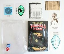 Book Adventure Game - Battle Quest - Stephen Thraves Tunnels of Fear 1992 VGC