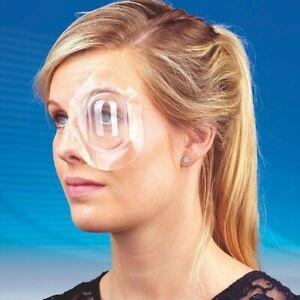 Augen Pflaster 10 Stück Premium Uhrglasverband Guibor selbstklebend transparent