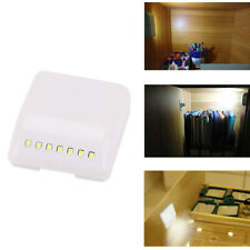 Motion Sensor Activated Night Light 7 LED Closet Corridor Cabinet Induction Lamp