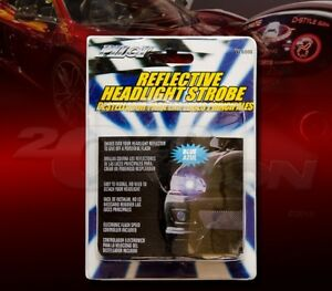 BLUE REFLECTIVE HEAD LIGHT LAMP STROBE FOR 300 CHALLENGER CHARGER RAM 1500 DART
