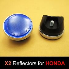 Honda CB100 CL100 S CB125 CB175 CA175 K3 Blue Front Fork Reflector Japan Pair