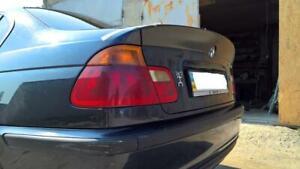 bmw E46 trunk Spoiler CSL M3 bmw e46 sedan Spoiler lip csl style