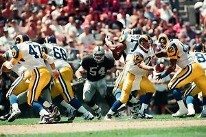 LG68-22 1995 NFL Oakland Raiders vs St. Louis Rams (100) ORIGINAL 35mm NEGATIVES