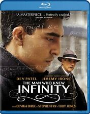 The Man Who Knew Infinity BLU-RAY NEW
