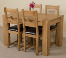 Furniture Direct Oak Up to 4 Seats Table & Chair Sets