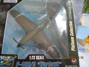 MRC Easy Model 1:72 P-40B/C Warhawk #37210