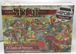 SPQR 151510001 A Clash of Heroes (Starter Set Revised) Romans Gauls Warriors