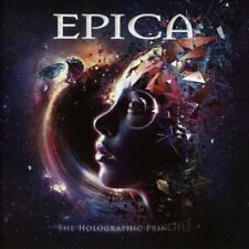 EPICA - THE HOLOGRAPHIC PRINCIPLE - 2LP BLACK VINYL NEW SEALED 2016
