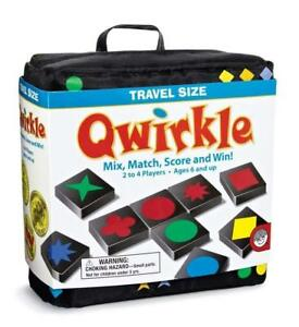 Qwirkle Travel Game   MENSA Award Winning   Family Strategy Game from Mindware
