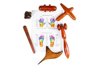 Foot and Hand Massage Wooden Stick