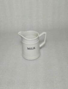 NEW THL Classic French MILK Jar Summer Home Dining Decor