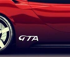 2x Seitenaufkleber Aufkleber Passt Alfa Romeo GTA Sticker Emblem Logo ER19