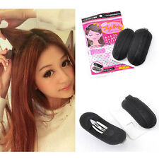 2pc Volume Hair Insert Clip Back Beehive Marking style Tool Holder T4